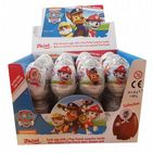 Paw Patrol Character Chocolate Egg &  Surprise Toy Gift - Zaini 20g